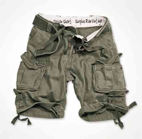 Surplus Short Division oliv washed