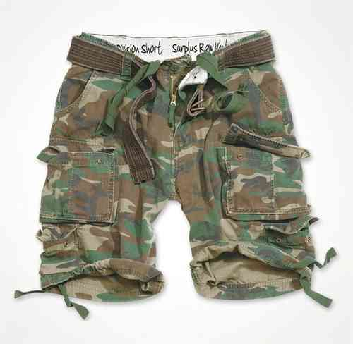 Surplus Short Division woodland washed