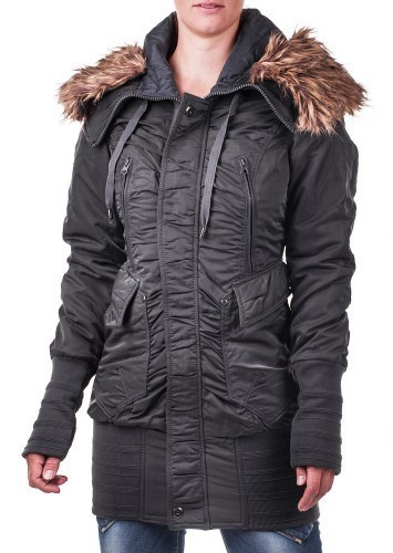 JetLag Damenparka RS 99 charcoal