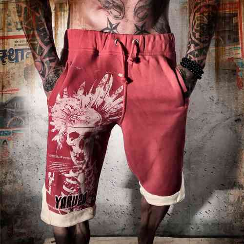 Yakuza Short JOK 634 ribbon red & black