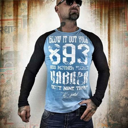 Yakuza Langarmshirt Blow it out LSB 8024 in 2 Farben
