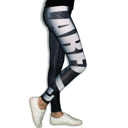 Label 23 Leggings Carbon schwarz/grau