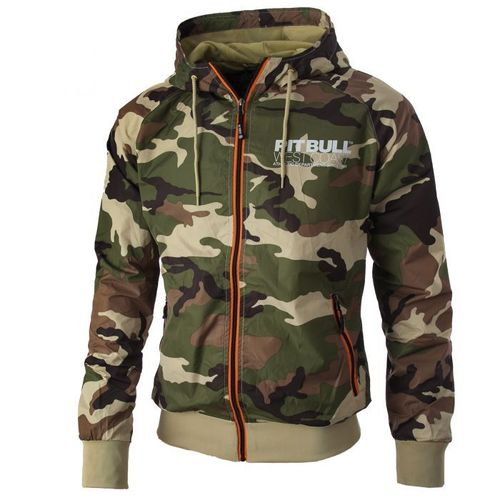 P.B.W.C. Herren Windjacke Athletic V camo