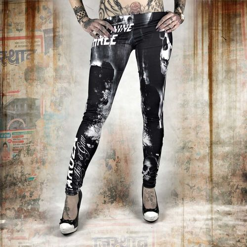 Yakuza Damen Leggings LEB 10137