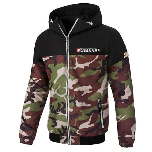 PitBull Westcoast Herren Windjacke Homelands 2 woodland/camo