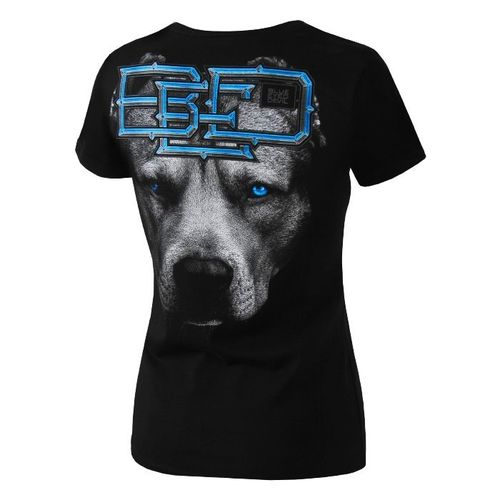 Pit Bull Westcoast Damen Shirt Blue Eye Devil ' 18 schwarz