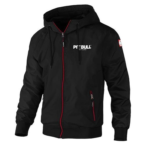 Pit Bull Westcoast Herren Windjacke Athletic 7 schwarz