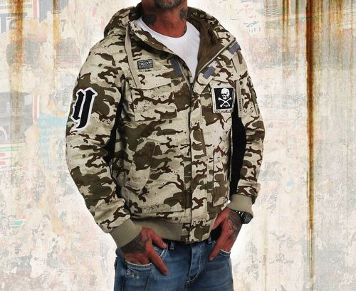 Yakuza Jacke Old Fashion 14025 camo